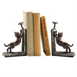 Climbing Cat Bookends