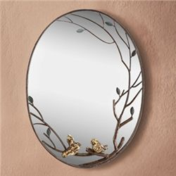 Bird & Branch Wall Mirror