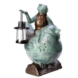 Frog Riding Bird Lantern