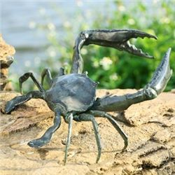 Garden Crab Sculpture