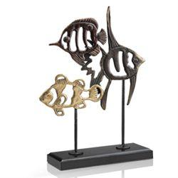 Fish Trio Sculpture