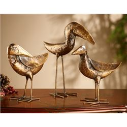 Set Of Toucan Sculptures