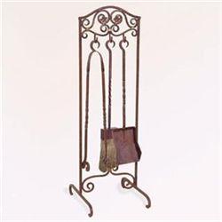 Provencial Fireplace Tool Set