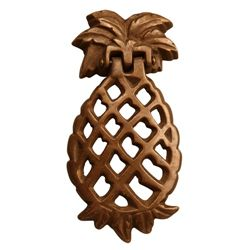 Pineapple Doorknocker