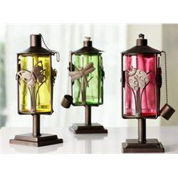 Set Of Table Top Oil Lanterns