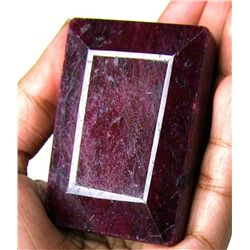 525 ct. Rectangle Ruby Gemstone - Africa