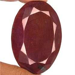 600 ct. Oval Ruby Gemstone Natural