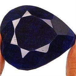 440 ct. Heart Shaped Sapphire Gem