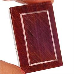 325 ct. Rectangle Ruby Gemstone