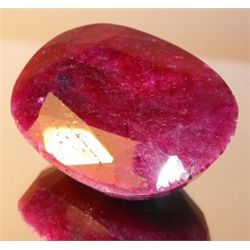 535 ct. Ruby Gem - Natural  - African