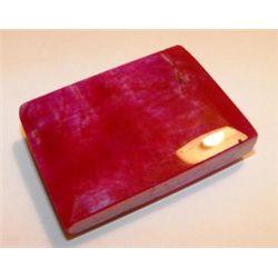 480 ct. Square Ruby Gemstone