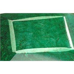 855 ct. Rectangle Emerald Gemstone