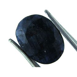 5 ct. Natural Deep Dark Sapphire