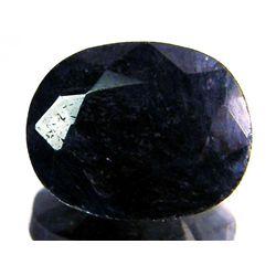 4 ct. Natural Sapphire Dark Gem