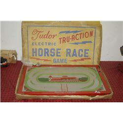 TUDOR ELECTRIC TRU-ACTION HORSE RACE GAME