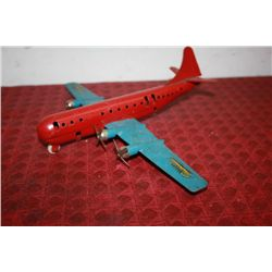 "STRATOCRUISER PLANE - 10"" LONG 13"" WINGSPAN"