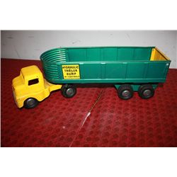 "HYDROLIC DUMP TRAILER - 21"" LONG 6"" HIGH - RAM OWRKS PERFECT"