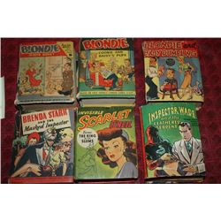 SET OF 6 BIG LITTLE BOOKS - 1945-1946 - ONE MONEY
