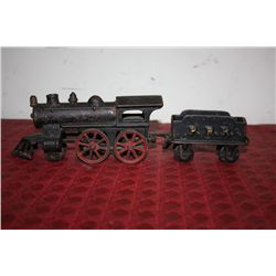 2 PC. EARLY IRON TRAIN