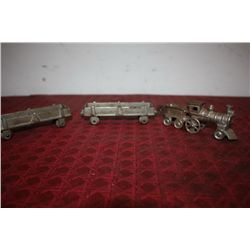 3 PC. IRON TRAIN SET