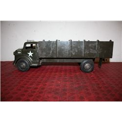 "METAL TRUCK - US ARMY - 19"" BY MARX"
