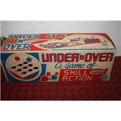 UNDER N OVER GAME - IN ORIG BOX - BY MARX