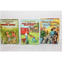 3 TRIXIE BELDEN BOOKS - (2) 1954 - (1) 1955