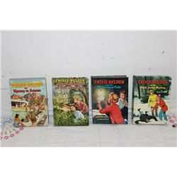 4 TRIXIE BELDEN BOOKS NEAR MINT - (2) 1958 - (2) 1961