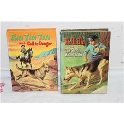 2 RIN TIN TIN - YELLOW 1957 - GREEN 1958 - GOOD COND.