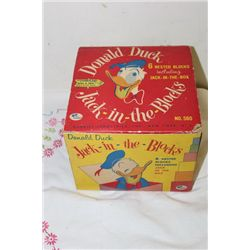 GABRIEL INDUSTRIES N.Y. - DONALD DUCK - ORIG. BOX - DATED 1959