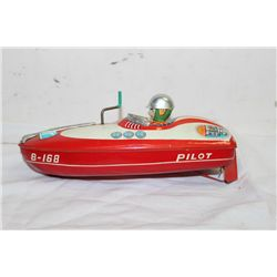 TIN SPEED BOAT 10  WORKS