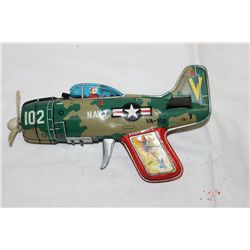 "JAPAN TIN TOY SHOOTS - 8"" LONG"