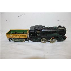 2 PIECE BATTERY OPERATED TRAIN - JAPAN - 11""