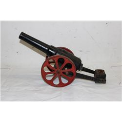 HEAVY CAST IRON CANNON SIGNED 11FW H. FB - 15""