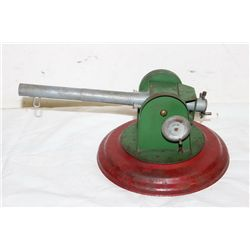"B&B MFG. CO. ADJUSTABLE HEAVY ARTILERY - ADJUSTS PERFECT - 14"" LONG - BASE 9"""