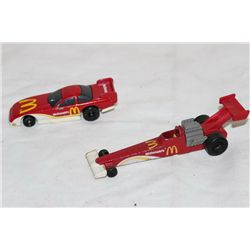 2 MCDONALD RACING CARS