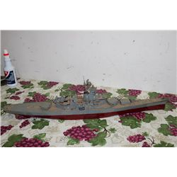 PLASTIC MODEL GUNNER SHIP - 30""