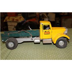 """MILLER IRONSON CORP. - FLATBED TRUCK - 17"""" LONG"""