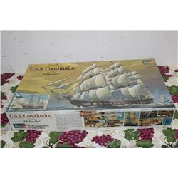 USS CONSTITUTION MODEL - COMPLETE 1976 - NEW IN ORIG BOX - BY REVELL