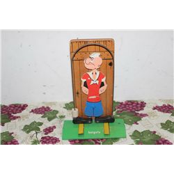 WOODEN POPEYE TOY - 13""