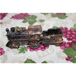 "CAST IRON TRAIN - 7"" LONG"