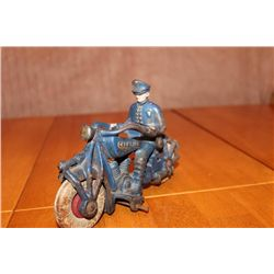 "IRON MOTORCYCLE MARKED CHAMPION - 7"" LONG - 5"" HIGH"