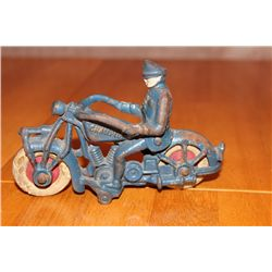 "IRON MOTORCYCLE MARKED CHAMPION - 6"" LONG - 4"" HIGH"