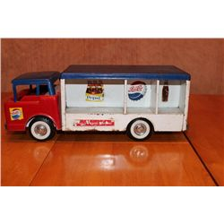 "NYLINT PEPSI DELIVERY TRUCK - 16"" LONG - 6.5"" TALL - ALL METAL"