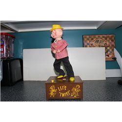 "LETS TWIST BY MARILYN PRODUCTS - ORIG. BOX - 15"" TALL - BATTERY OPERATED"