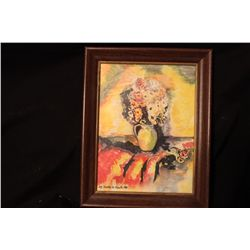 WATER COLOR BY MATTHEW ORANTE FRAMED 1986
