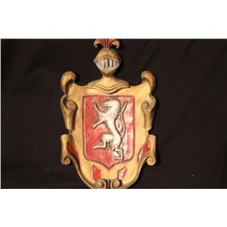 MADE & PAINTED BY MATTHEW ORANTE LITHUANIA COAT OF ARMS - 12TH CENTURY A.D.