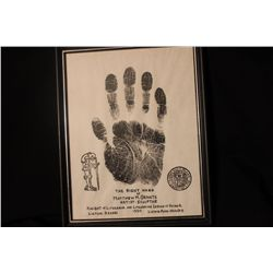 RIGHT HAND OF MATTHEW ORANTE - 1950 - KNIGHT OF LITHUANIA