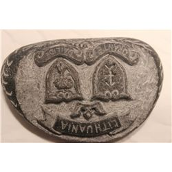 STONE CARVING AND A FANTASTIC ONE - GRAVE MARKIGNS FOR MATTHEWS MOTHER AGNESKA & FATHER MATTHEW III