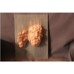 """OUTSTANDING SCULPTURE FROM LITHUANIA - BURL LINDEN WOOD BY MATTHEW ORANTE 1970 - 9"""" X 12"""""""